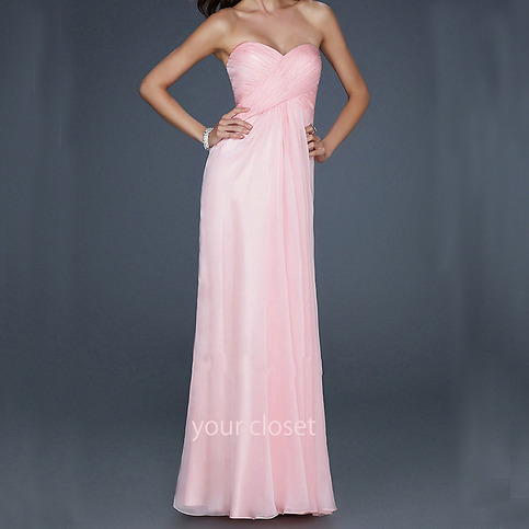 Design   Prom Dress on Prom Dress In Yourcloset    Elegant Chiffon Prom Dress   Pink  4colors