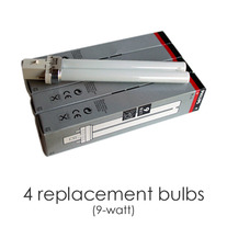 4 Replacement Bulbs