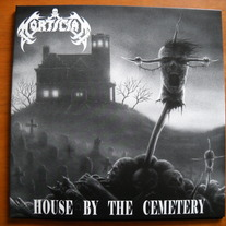 MORTICIAN 'house by the cemetary' lp
