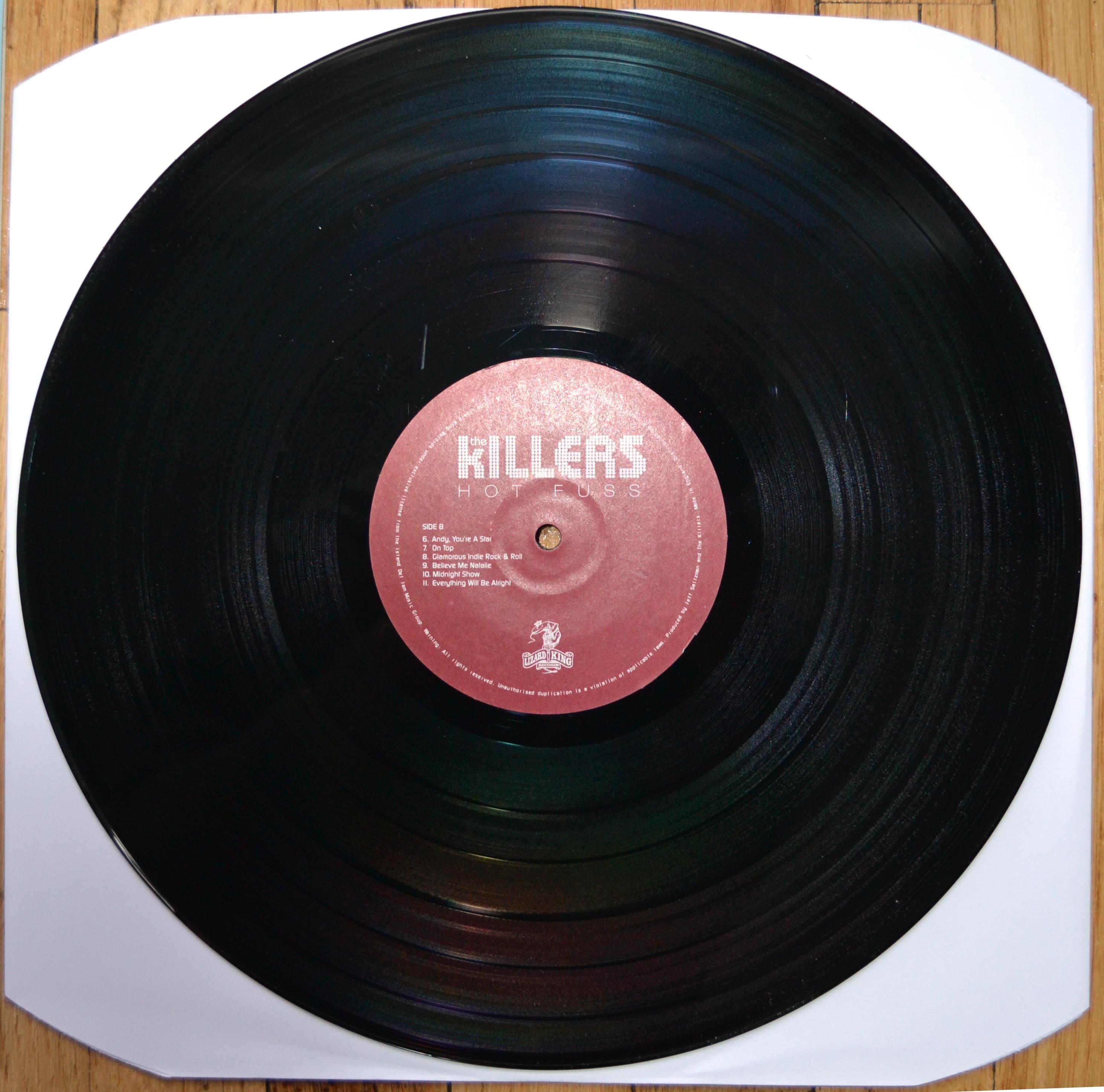 Killers Hot Fuss Vinyl Lp 183 Revealed Records 183 Online