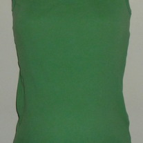 Green Ribbed Tank Top-Motherhood Maternity Size Large  CLLO