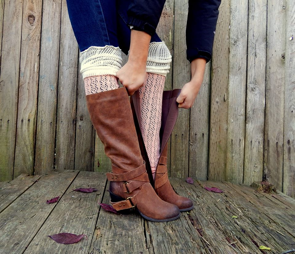 0ccd1add7 Tall Boot Socks over the knee Color block two tone rain boots