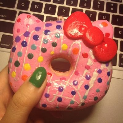 Hello Kitty Donut Squishy Deco : Home ? Daisy s Kawaii Store ? Online Store Powered by Storenvy