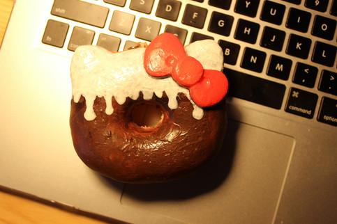 Diy Squishy Hello Kitty : DIY Deco Squishy - Hello Kitty Donut Squishy (Type H) on Storenvy