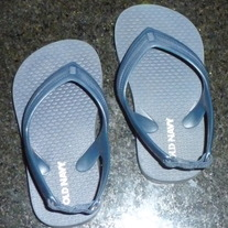 Navy Blue Sandals-Old Navy Size 5