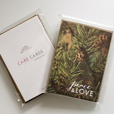Care cards // holiday pack