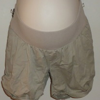 Khaki Shorts-Liz Lange Maternity Size Medium  03131