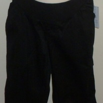 Black Capris-NEW-Duo Maternity Size Large  03148