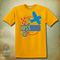 1933 Gold Air Race Shirt