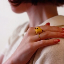 Woodland bird ring - Thumbnail 3