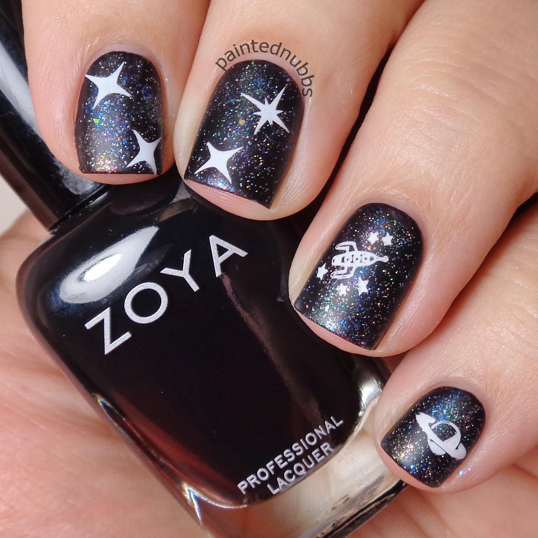 Winter Nail Polish: Custom Winter Interference Iridescent Glitter