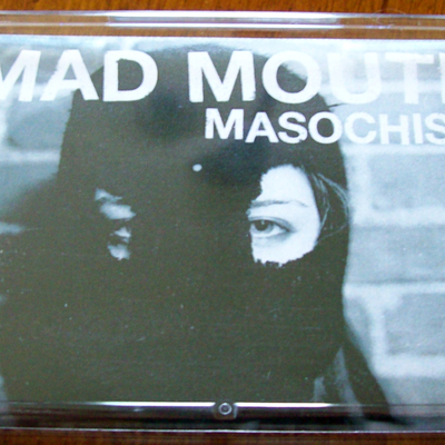 "Mad mouth ""masochism"" ep - ltd. cassette /100 (members of rival mob/xfilesx/wolf whistle) 1 left"