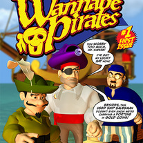 The Wannabe Pirates #1 Digital Comic