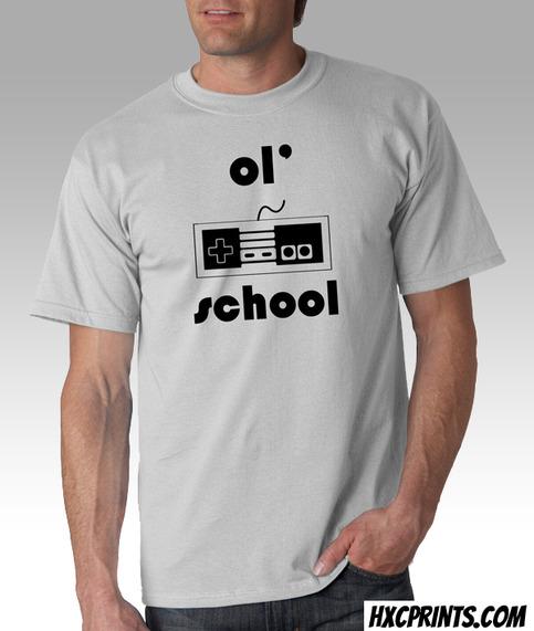 Old School Gamer Unisex T Shirt Hxcprints Online Store