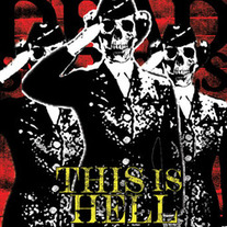 This Is Hell - Self Titled LP (one sided etched vinyl) ON SALE!