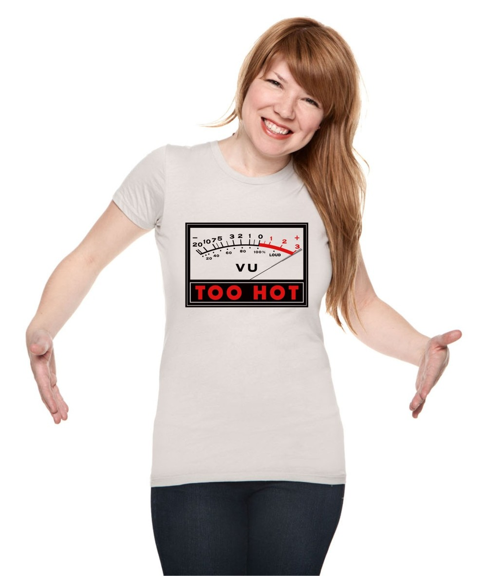 Too Hot Vu Meter Voxtees Online Store Powered By Storenvy Pocket
