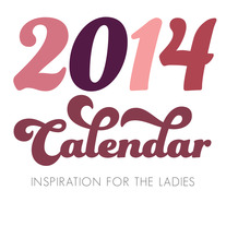 Inspirational Desktop Calendar - for the Ladies