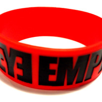 Silicone Wristband (Red)