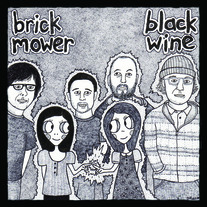 "Black Wine// Brick Mower ""split"" 7"" (Viking on Campus)"