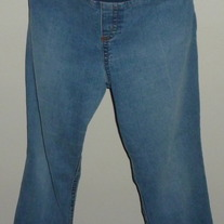 Denim Jeans-Announcements Maternity Size XL  03316