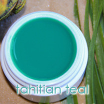 .5 oz Tahitian Teal Nail Gel