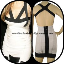 """Cafe au Lait"" Bandage Dress"