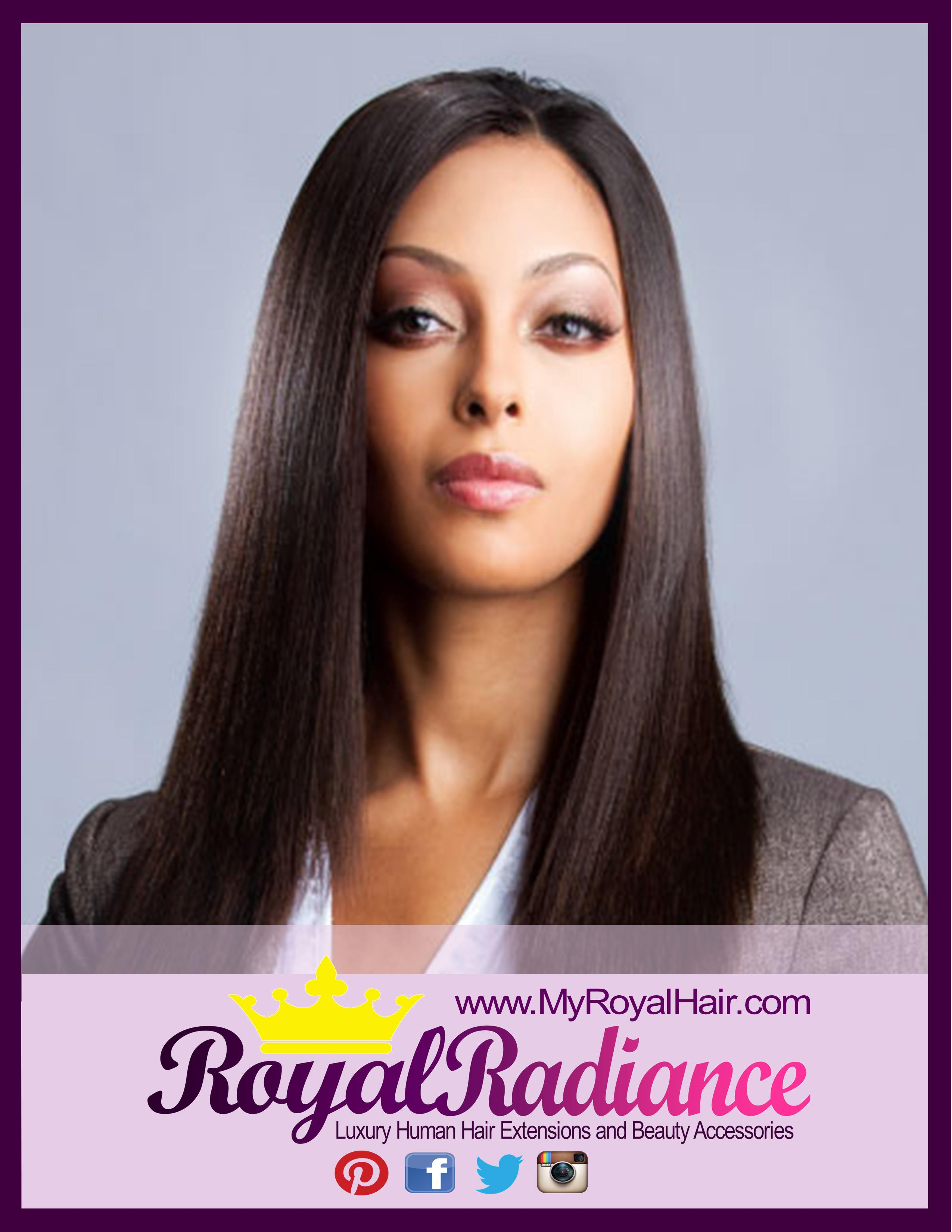 Royal Radiance Luxury Hair Silky Straight Brazilianmalaysian