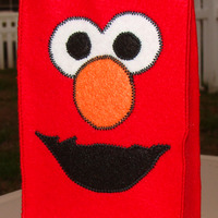 Sesame Street Felt Party Favor Bag Assortment - 1 of Each (Elmo, Cookie Monster and Big Bird) - Thumbnail 1