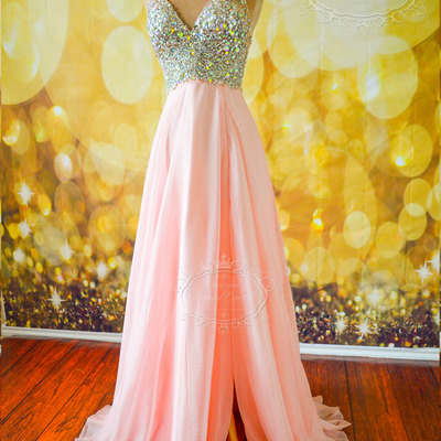 Blush Pink Ariana Prom Pageant Gown Dress · Prom and Pageant Experts ...
