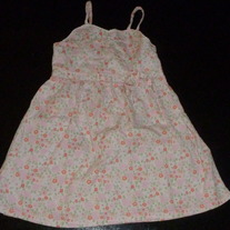 Pink/Green Floral Dress-Laura Ashley Size 3T