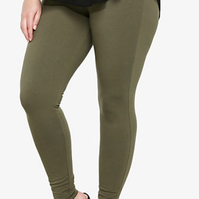 Olive Green Leggings · Fat and Nerdy · Online Store Powered by ...