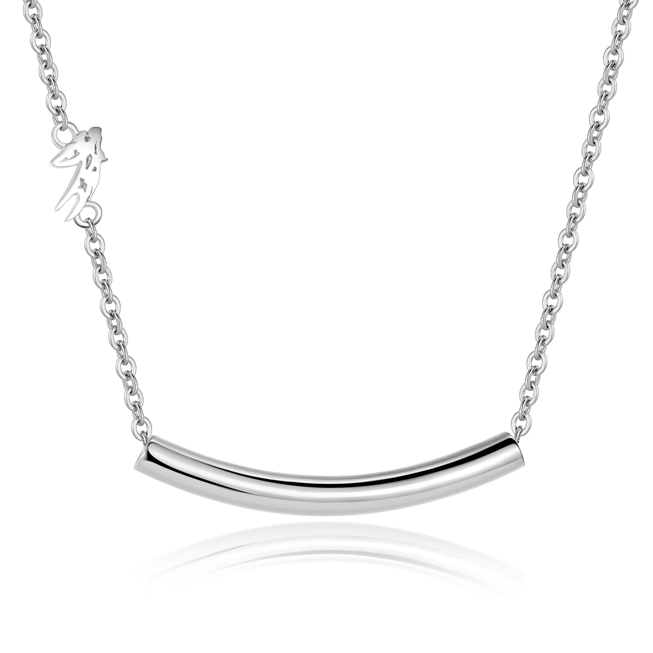 cable keep pendant hangs plain silver pn special along to close products heart chain with rectangle sterling necklace someone an locket was this timeless that necklaces aeravida inches your details rectangular