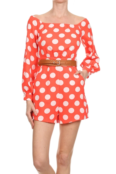 Polka Dot Romper u00b7 Stylo Clothing and Shoes u00b7 Online Store Powered by Storenvy