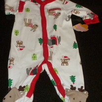 My First Christmas Sleeper-NEW-Just One You By Carter's Size Newborn
