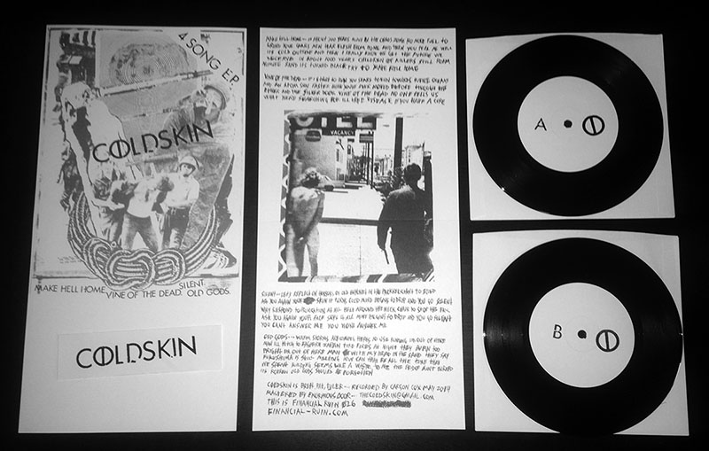 """Cold Skin - 4 Song 7"""" · Financial Ruin · Online Store ..."""