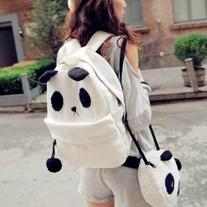 Mochila+Bolso Panda / Backpack+Panda Bag 2WH238