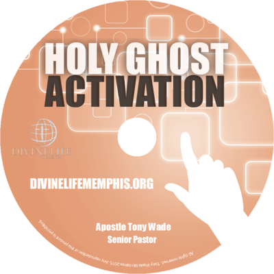 Holy ghost activation - cd