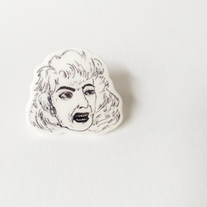 Dorothy Zbornak Illustrated Pin  medium photo