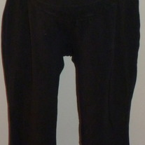 Black Capri Leggings-Motherhood Maternity Size Large  CLLO