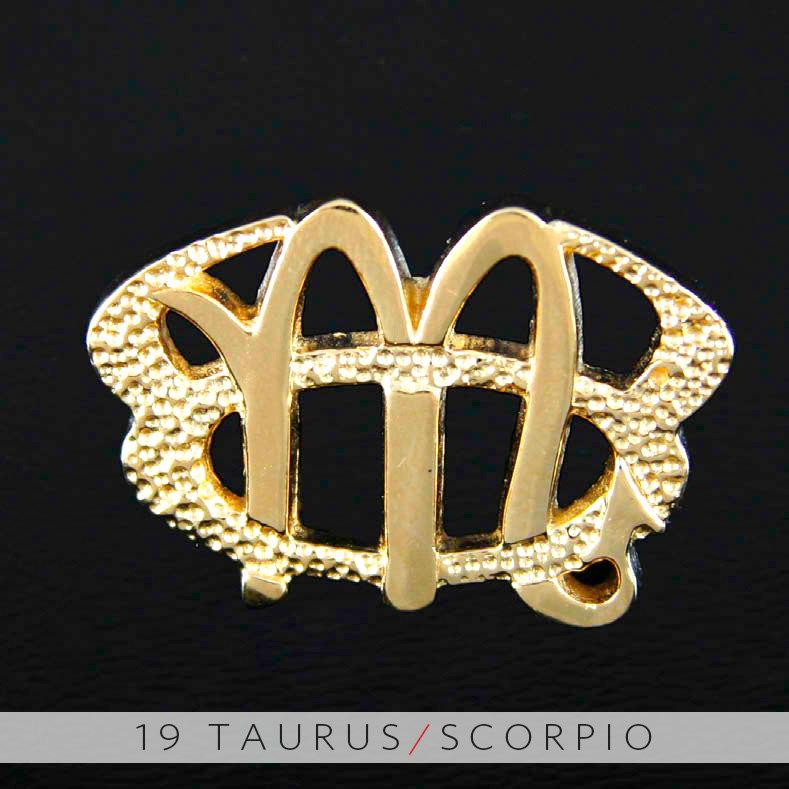 Unity design concepts 19 taurus and scorpio gold unity pendant 19 taurus and scorpio gold unity pendant aloadofball Images