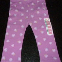 Purple Heart Leggings-NEW-Circo Size 18 Month