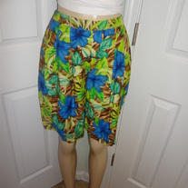 Vintage Green and Blue Shorts Size S!