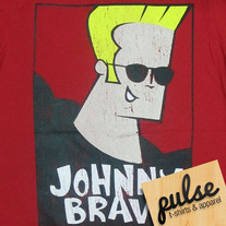 Johnny Bravo Red Unisex T-Shirt