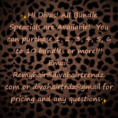 Questions? contact us: remyhair@divahairtrendz.com or 646-580-4304 [please leave a voicemail, text or email & will get back to you asap!:)]