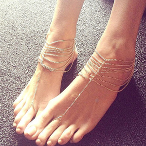 Multilayer Foot Chain/Anklet