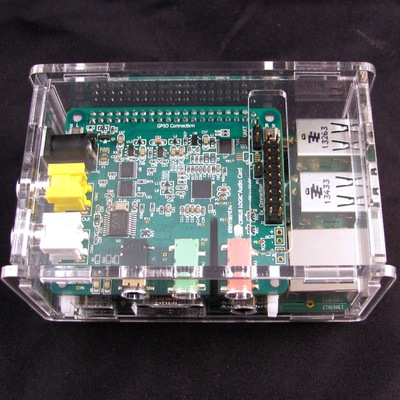 Rpi b+/b+ 2 cirrus logic audio card case