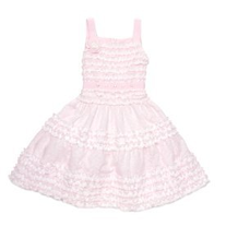 Biscotti Birthday Girl Sleeveless Dress in Pink