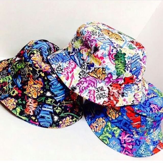 c9cda0ba5a7 LIMITED EDITION Graffiti Bucket Hat · The Royal Life · Online Store ...