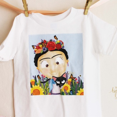 Frida kahlo tee [ inspired ]