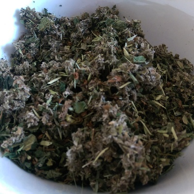 Organic tea pregnancy infusion herb blend